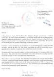 Letter From NATO Ambassador Karel Kovanda<